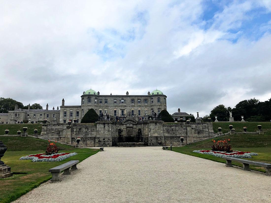 Powerscourt Estate grounds in Ireland