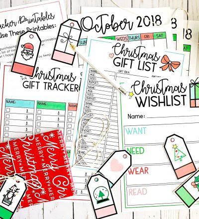 All Things Holiday Printables Bundle