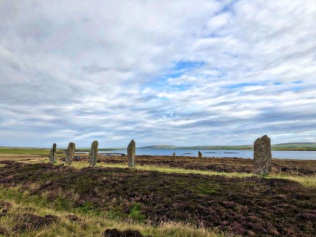 Things to do in Scotland - Ring of Brogdar in Orkney Islands