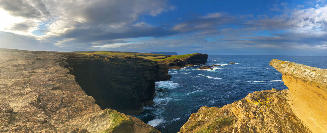 Things to do in Scotland -view at Orkney Islands