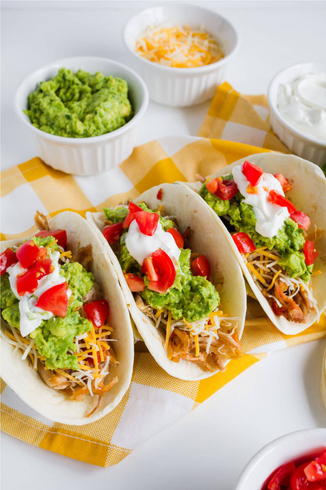 Full of flavor with a little spice, this Pork Carnitas recipe is a tasty Mexican favorite. Made with optional toppings. www.thirtyhandmadedays.com