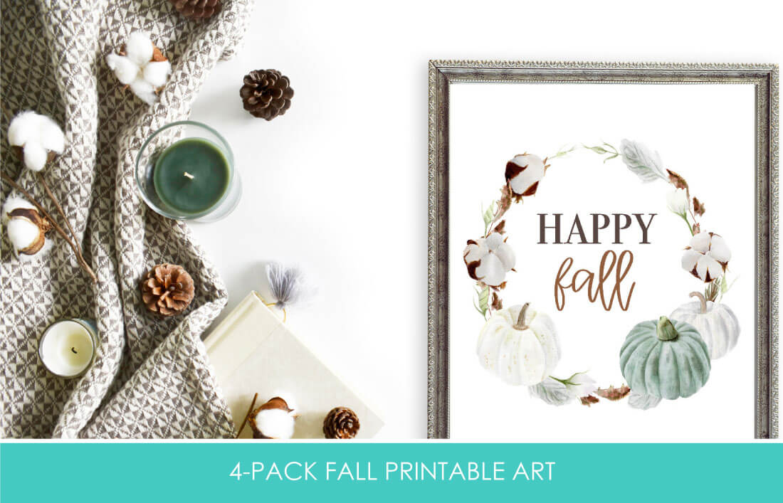 Happy Fall - Thanksgiving Printables