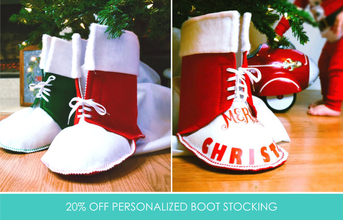 Personalized Boot Stockings