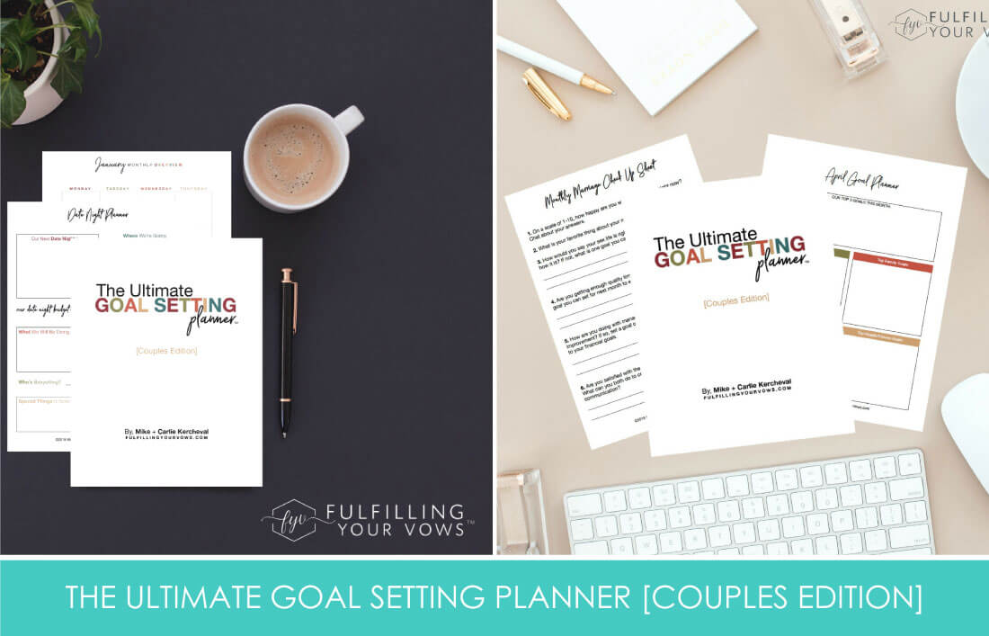 the Ultimate Goal Setting Planner