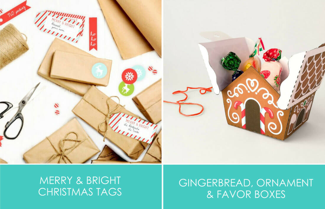 Merry & Bright Printables