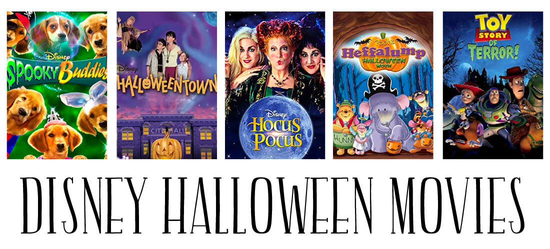 Disney Halloween Movies - a whole list of fun movies to enjoy during the holidays.