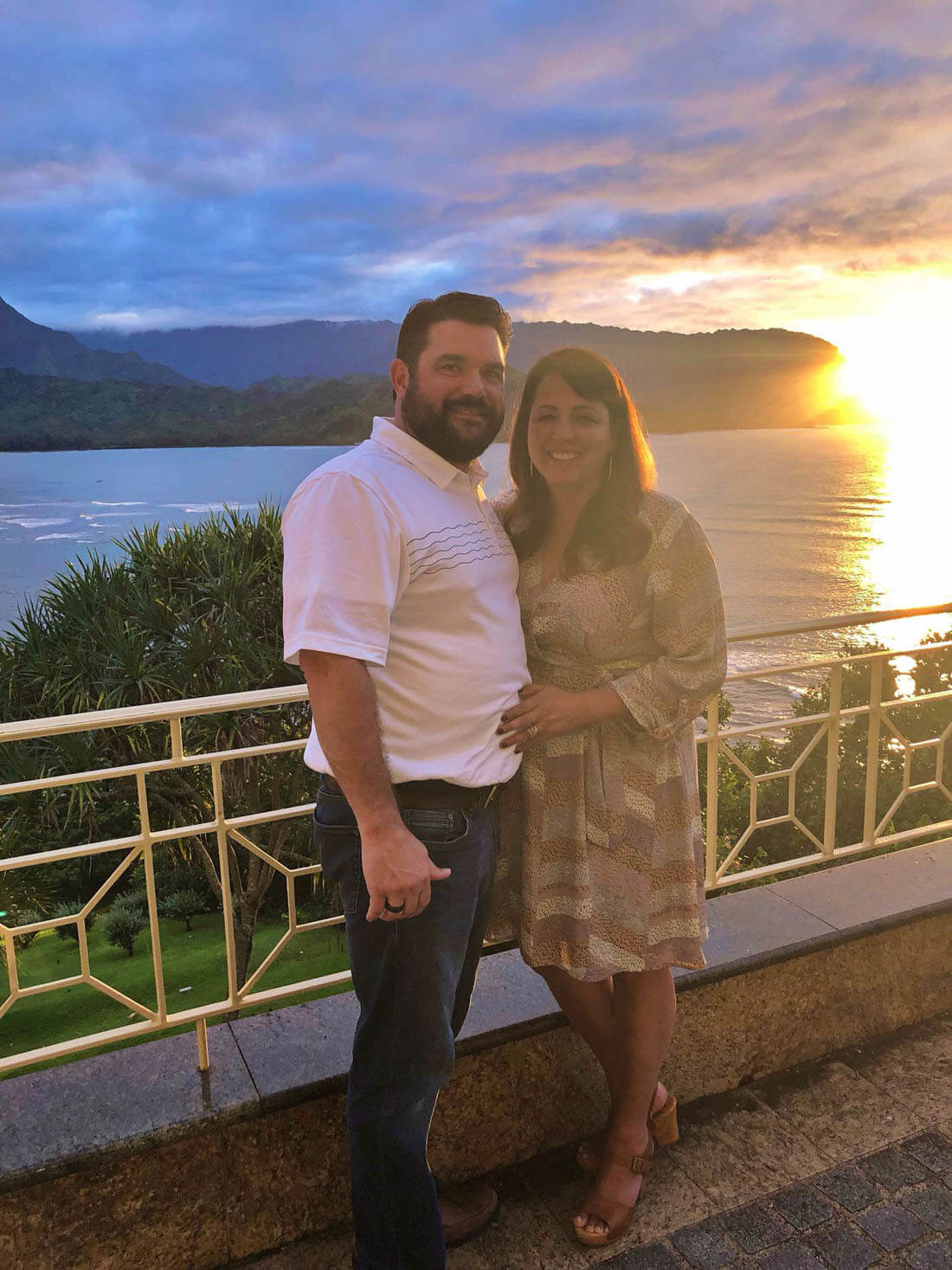 Top Things to Do in Kauai - sunset at Kauai Grill