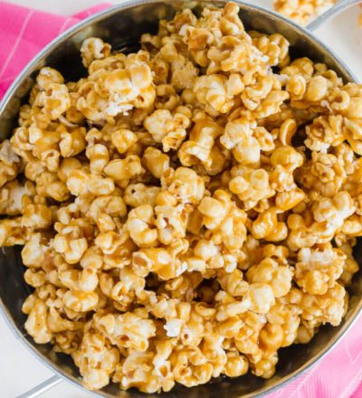 How to Make Caramel Corn - using a few simple ingredients.