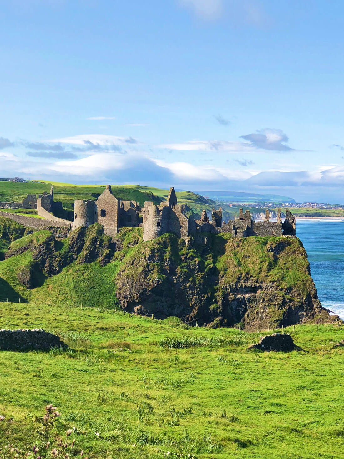 Things to do in Northern Ireland - Dunluce Castle, part of a British Isles Cruise