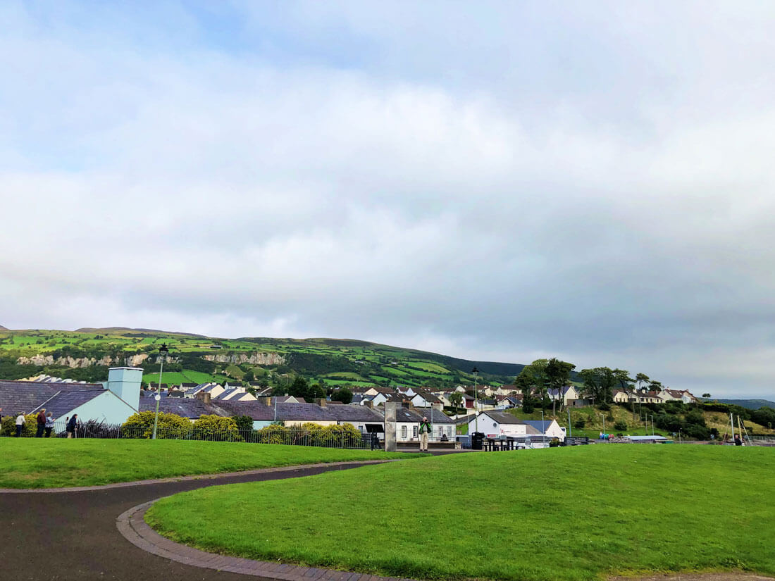 Along the drive to the Antrim Coast- Carnlough Harbor