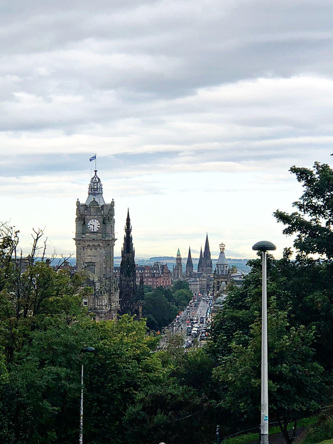Things to do in Scotland - overview of Edinburgh