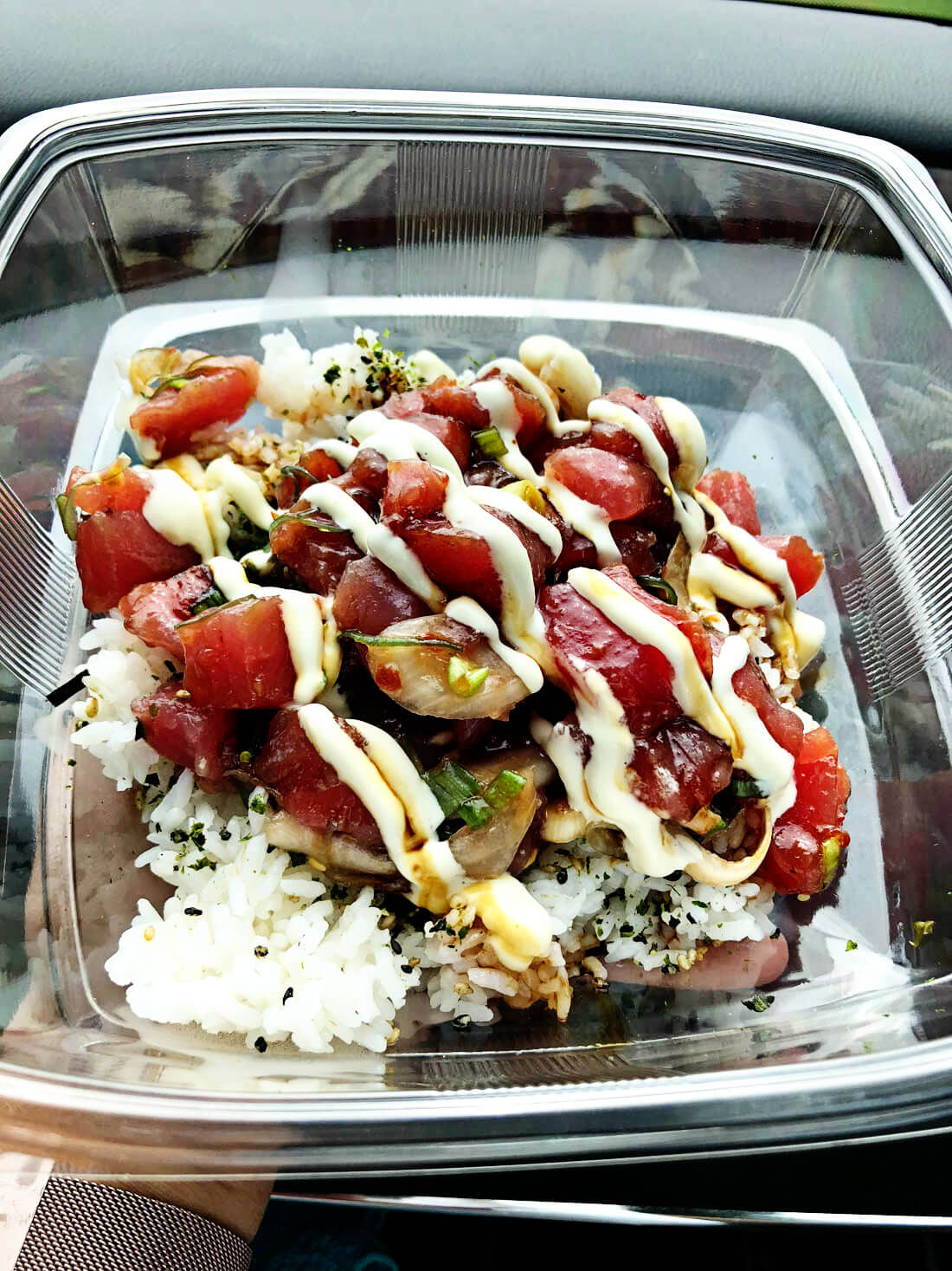 Poke Bowl from Poipu Golf Club