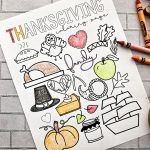 Happy Thanksgiving Coloring Page - free printable coloring page!