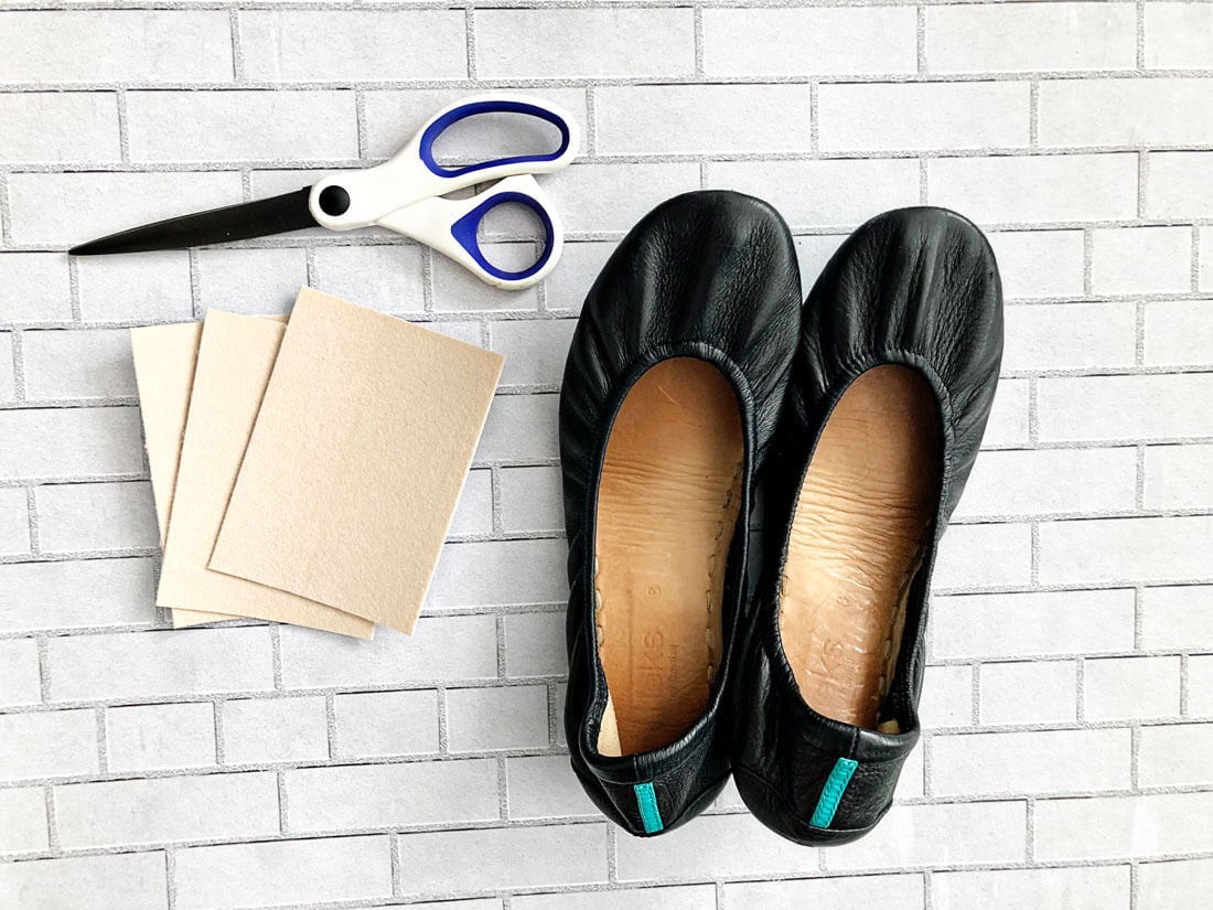 What you need to get rid of the toe bump on Tieks shoes