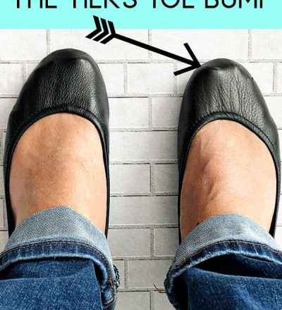 How to Get Rid of the Toe Bump on Tieks Shoes