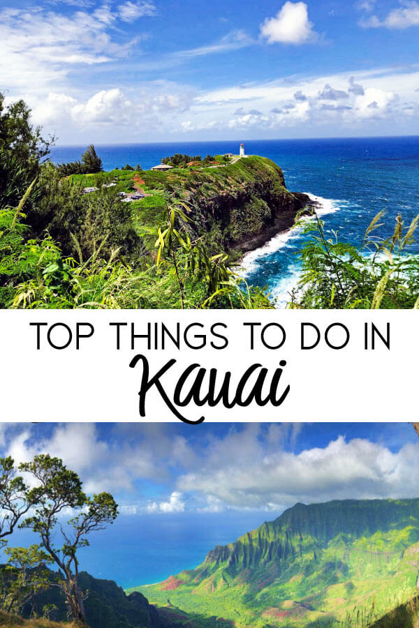 Top Things to Do in Kauai - places to go, eat and explore on the garden island.