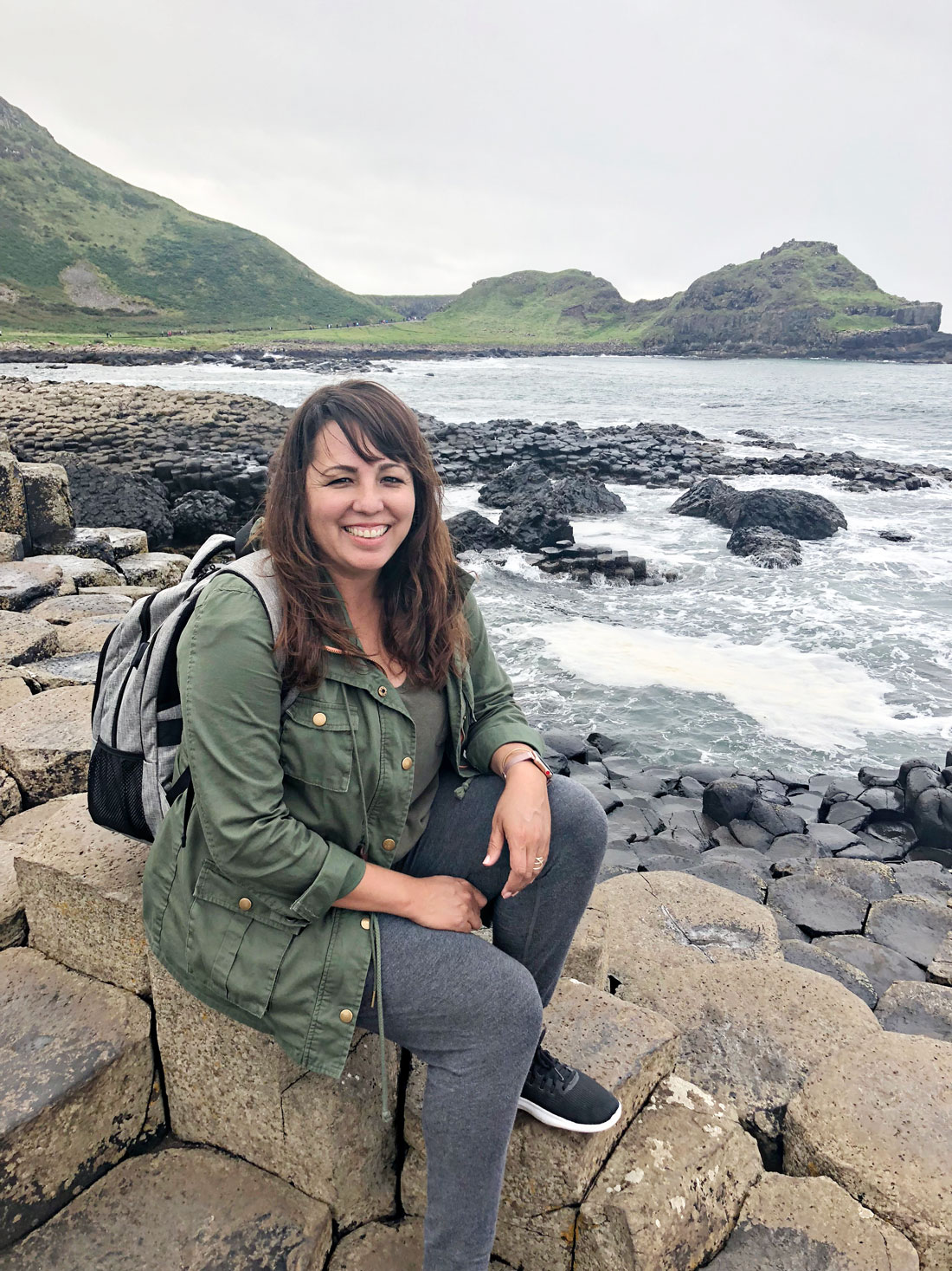 What to pack for a British Isles Cruise - at the Giants Causeway