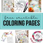 Free Printable Coloring Pages for Kids - download these coloring pages.