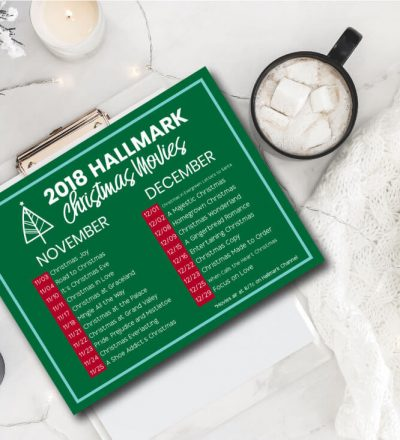 Hallmark Christmas Movies - the whole line up of movies featured on the Hallmark Channel.
