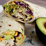 Ranch Chicken Wrap - an easy to make, healthy lunch or dinner idea.