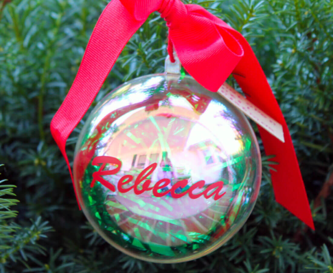 Money ornament- perfect for last minute gifts!