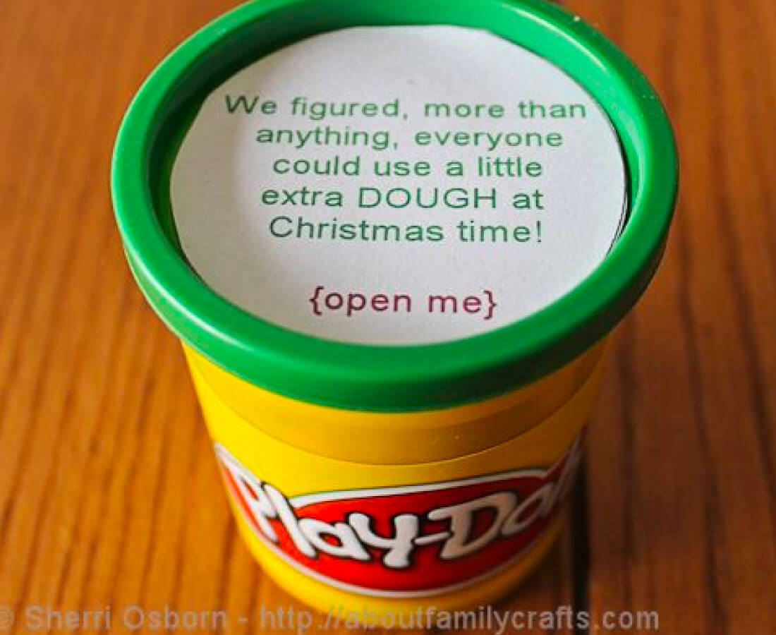 Holiday dough - perfect for last minute gifts!