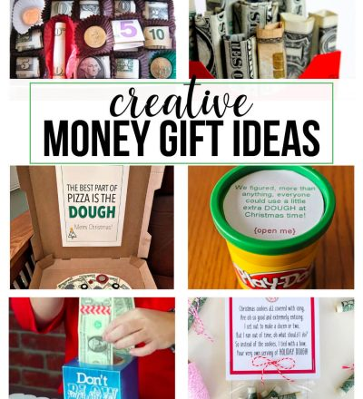 Creative Money Gift Ideas- perfect for last minute gifts!