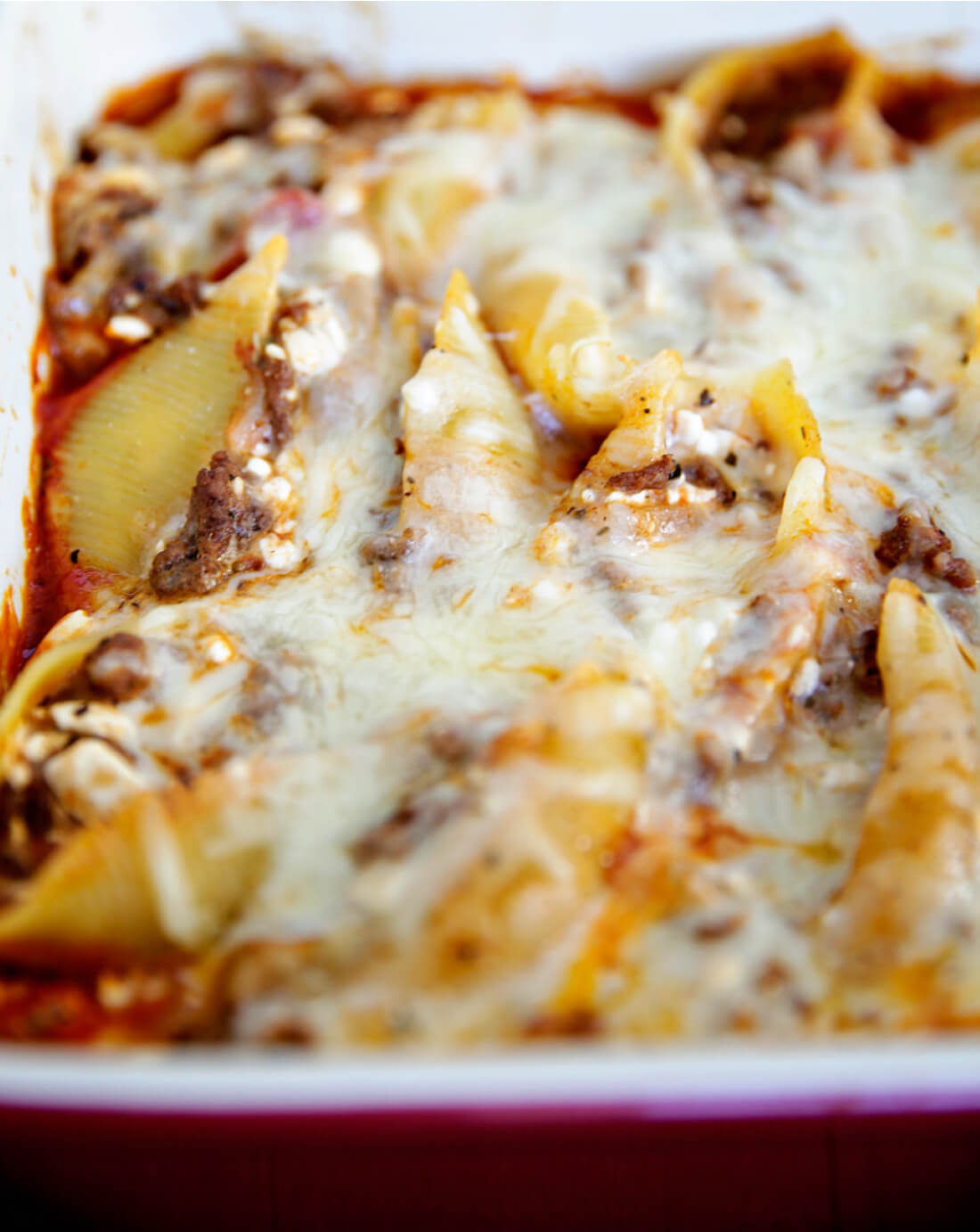 Stuffed Shells Recipe - an easy recipe that can be made ahead and your whole family will love it!