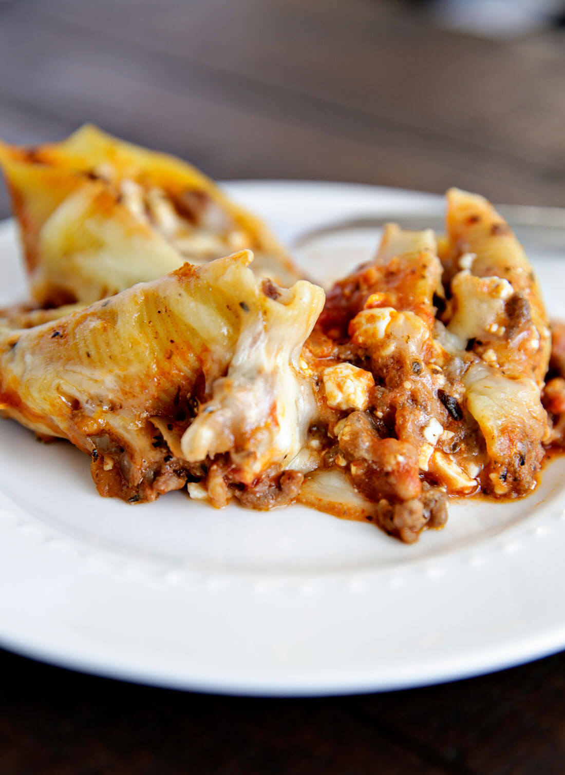 Stuffed Shells - a family favorite that can be made ahead!