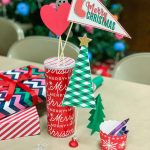 Christmas Table Decorations - ideas to help you plan your next Christmas party!