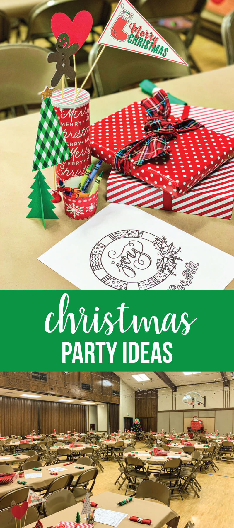 Christmas Party Ideas - things to make and do for a fun party!