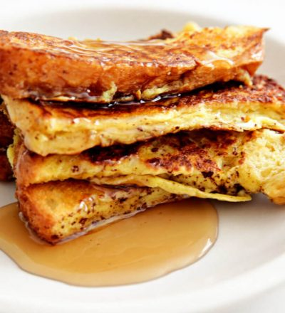 French Toast Sticks - delicious and easy to make, the best thing is you can freeze these and eat later.