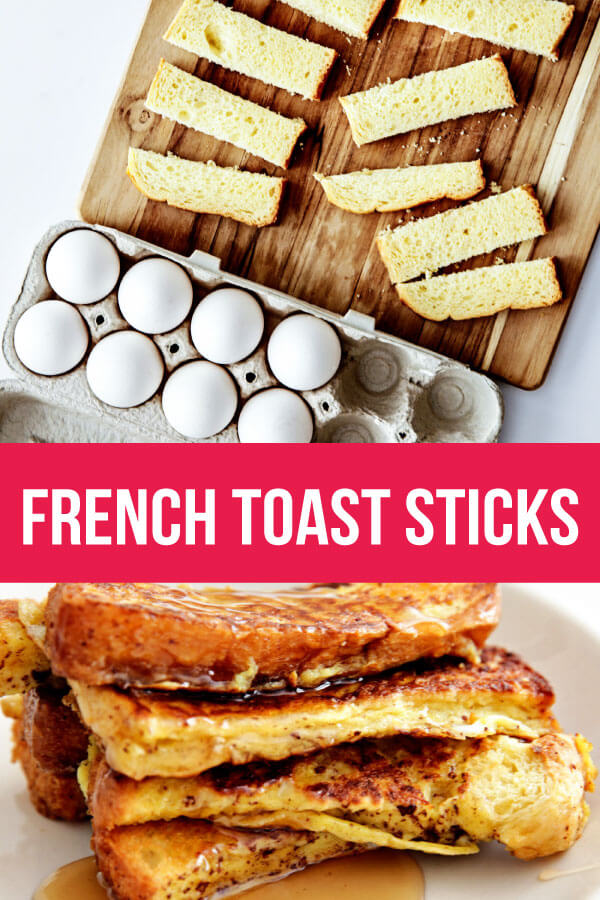 French Toast Sticks - delicious and easy to make, the best thing is you can freeze these and eat later. www.thirtyhandmadedays.com