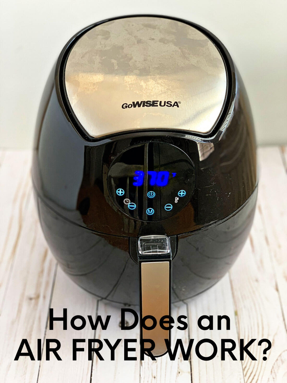 How does an air fryer work? Basics about how to use an air fryer. www.thirtyhandmadedays.com