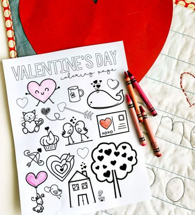 Free Printable Valentine's Coloring Pages from www.thirtyhandmadedays.com