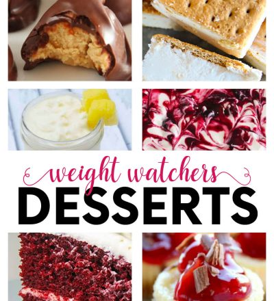 Weight Watchers Desserts - some desserts that you can make while doing Weight Watchers