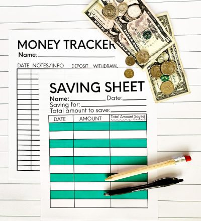 How to budget for kids - basic tips to teach your kids to be successful with money. With printables included. www.thirtyhandmadedays.com