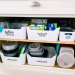 How to organize kitchen cabinets - the after