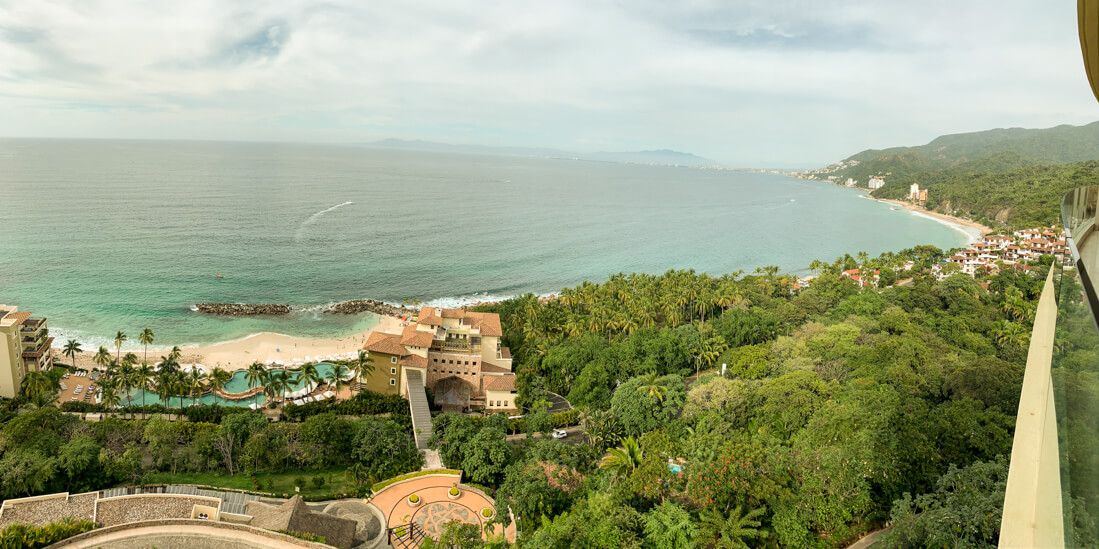 Tips for staying at all inclusive resorts -view from the room