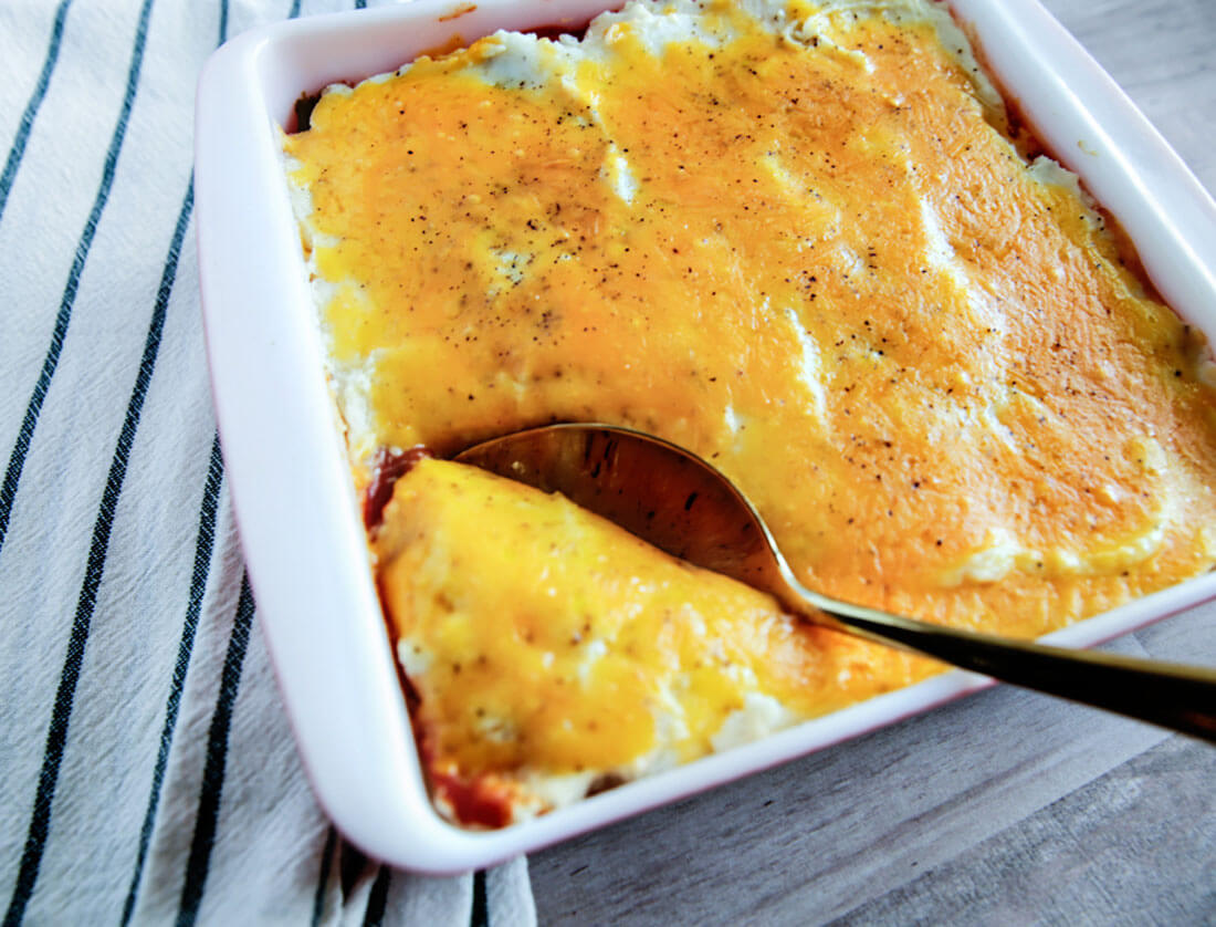 Shepards Pie - easy to make family dinner.