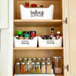 How to organize your spice rack - the after. What I used, how I cleaned it all up.
