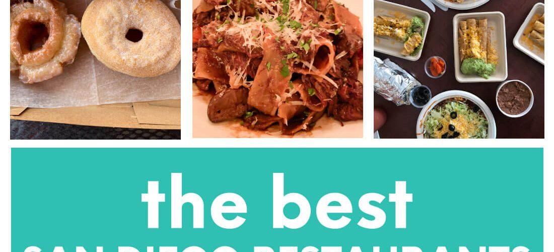 The Best San Diego Restaurants