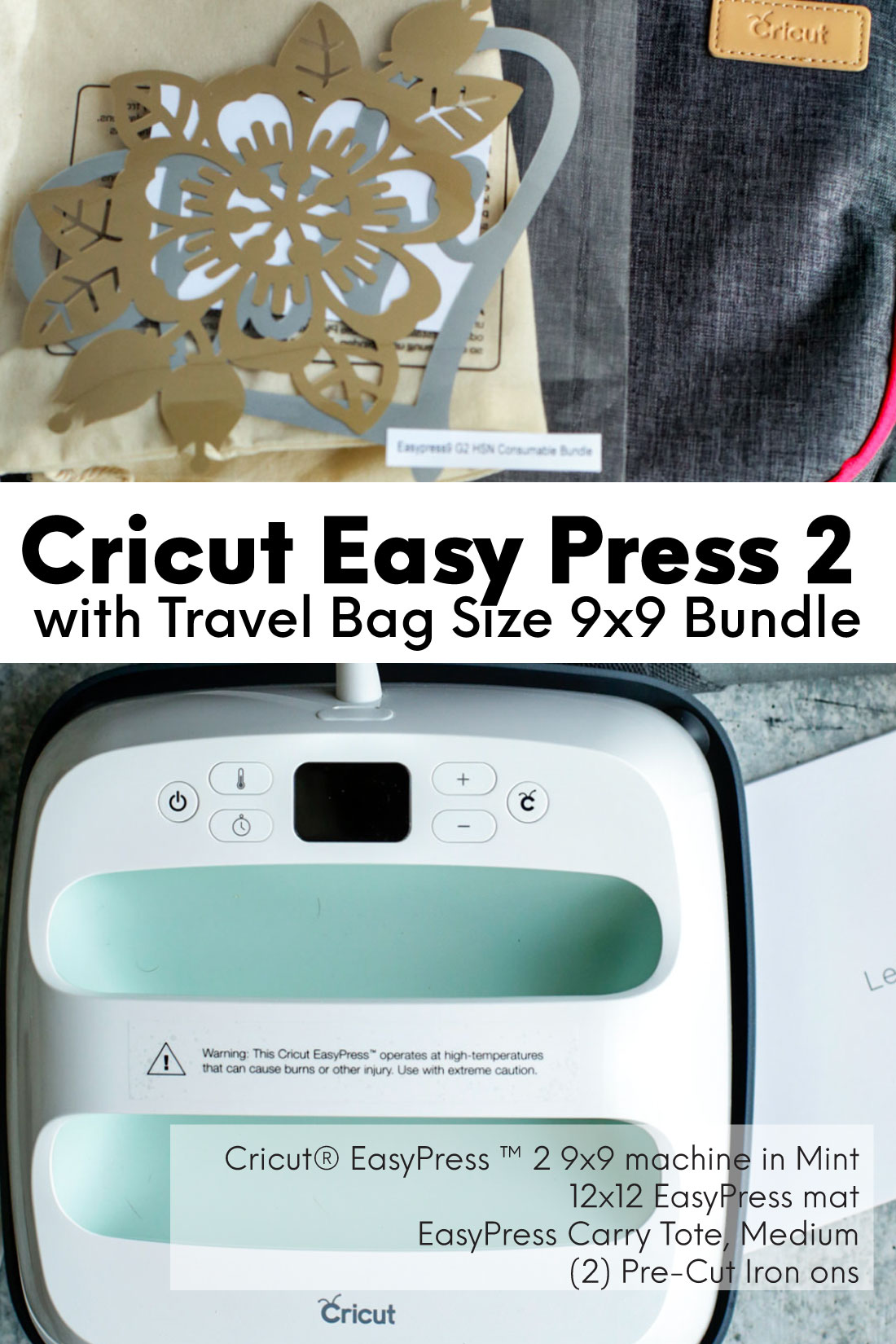 Cricut Easy Press 2 Bundle with HSN