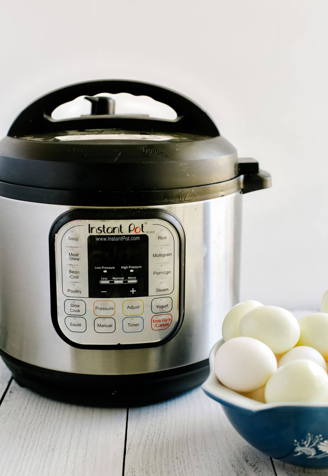 Using the Instant Pot - how to make hard boiled eggs