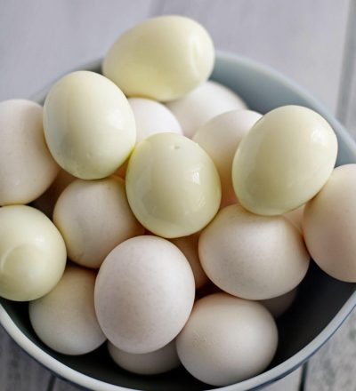the perfect Hard Boiled Eggs using the IP