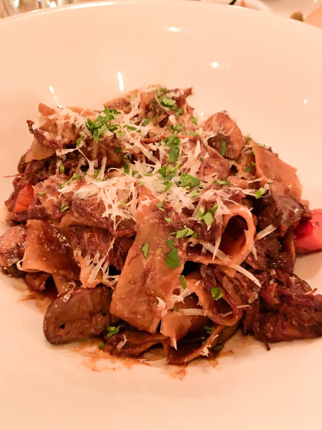 Best San Diego Restaurants - Cucina Enoteca, amazing Pappardelle