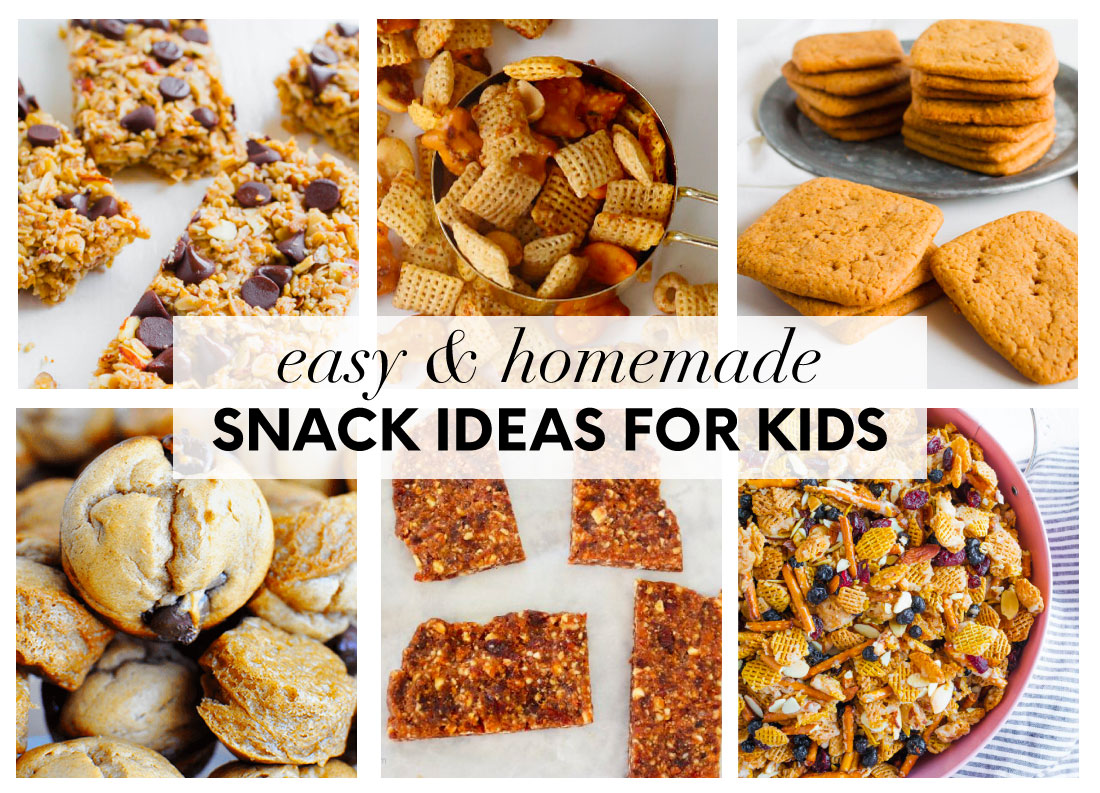 Easy and Homemade Snacks for Kids