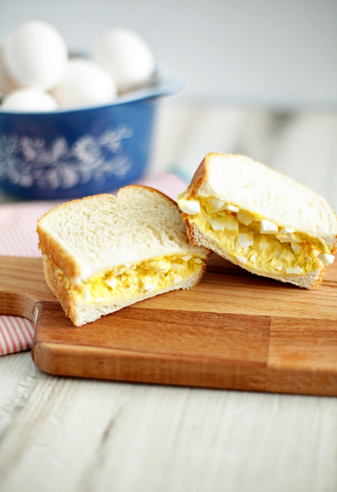 The best, classic egg salad sandwich recipe