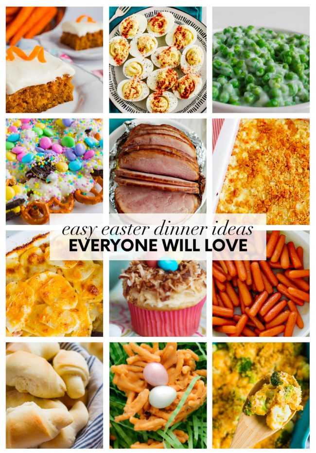 Easy Easter Dinner Ideas that Everyone Will Love