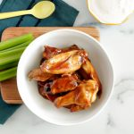How to make air fryer chicken wings and what to serve with them